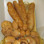 Fresh french bread and rolls