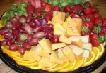 Deli Fruit Tray from the Gristmill Bakery and Deli