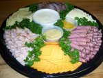 Deli Meat and Cheese Tray from the Gristmill Bakery and Deli