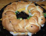 Braided Sandwich Ring from the Gristmill Bakery and Deli
